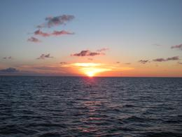 Spectacular sunset on the Caribbean Sea as a nother perfect day in Aruba comes to an end., Eric H - November 2010