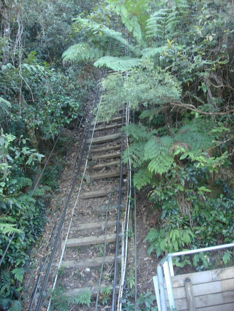 Rail Track in the valley - Sydney