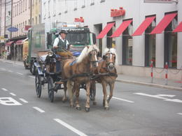 Horse and Cart in salzburg , Dennis J - July 2012
