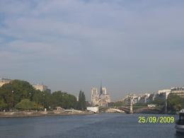 The Seine River, as taken from the boat., Helen K - October 2009