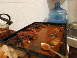 Photo of Istanbul Eat Like a Local: Istanbul Food and Culture Tour with Dinner at Local Family Home stuffed aubergine