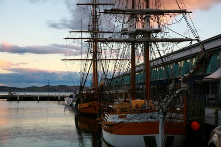 Tall ships in Hobart - Hobart
