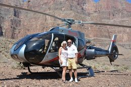 This was taken at our landing spot in the Grand Canyon , Gail O - August 2015