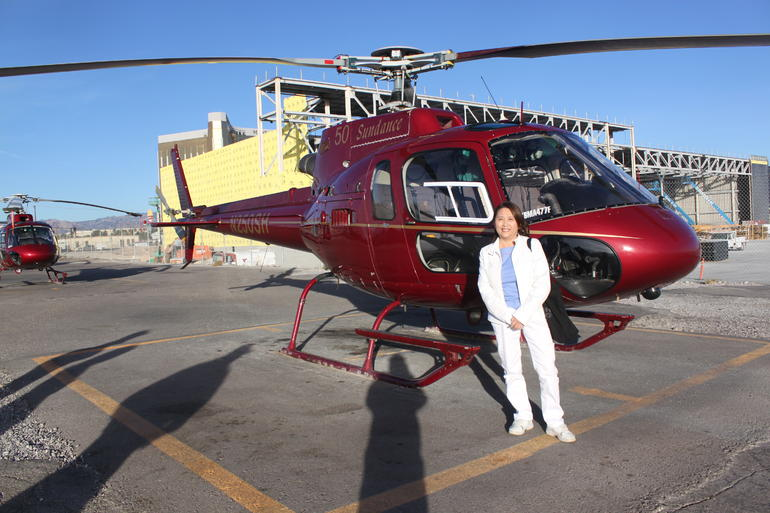 The Helicopter Tour - Las Vegas