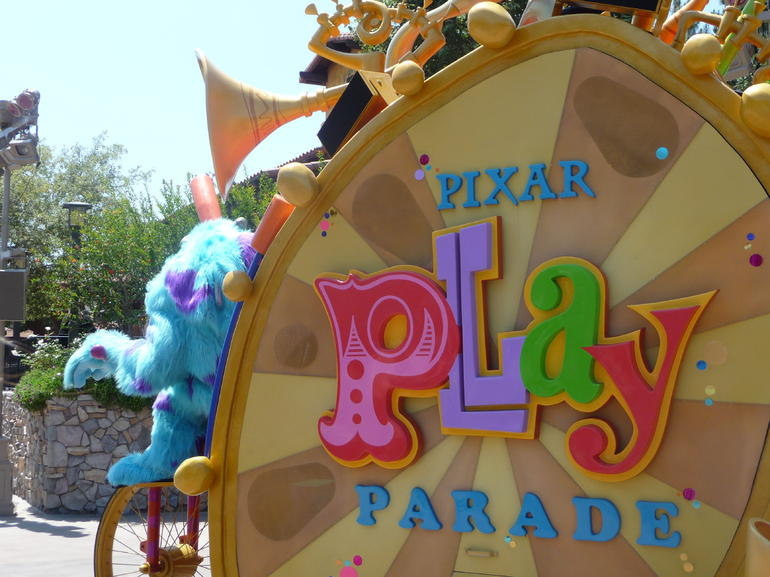 The Pixar Play Parade - Anaheim & Buena Park