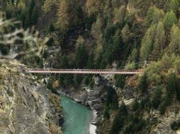 The Suspension Bridge at Skippers Canyon - June 2011