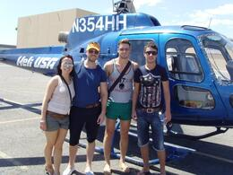 Photo of Las Vegas Grand Canyon West Rim VIP Helicopter Tour from Las Vegas Us after the ride