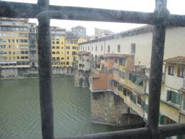 View from the Vasari Corridor of the Ponte Vecchio - May 2009