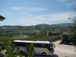Photo of Florence Tuscany in One Day Sightseeing Tour View across to San Gimignano