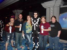 Photo of Las Vegas Blue Man Group at Monte Carlo Resort and Casino With some of the crew