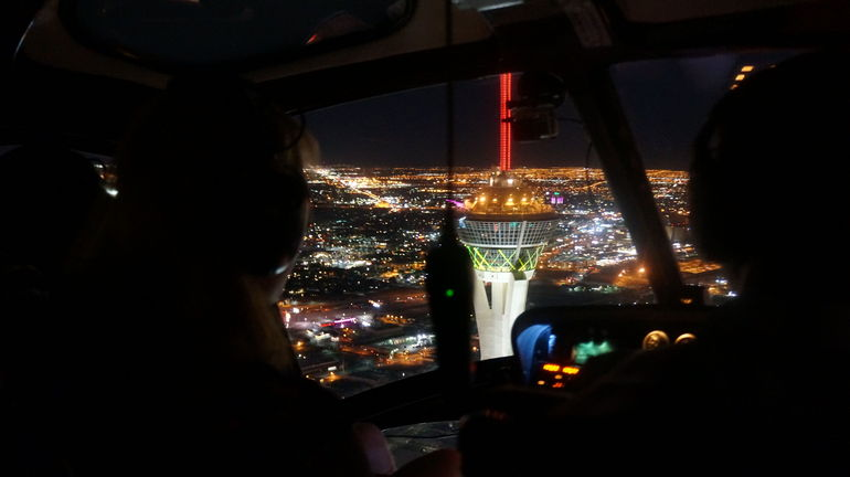 Vegas from the air - unbelievable!