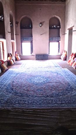 Photo of Muscat Day Tour to the Enchanting Forts of Nizwa Beaytiful room in the Nizwa fort.