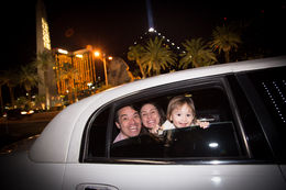 Photo of Las Vegas Viator Exclusive: Las Vegas Strip by Limo with Personal Photographer Cute, huh?