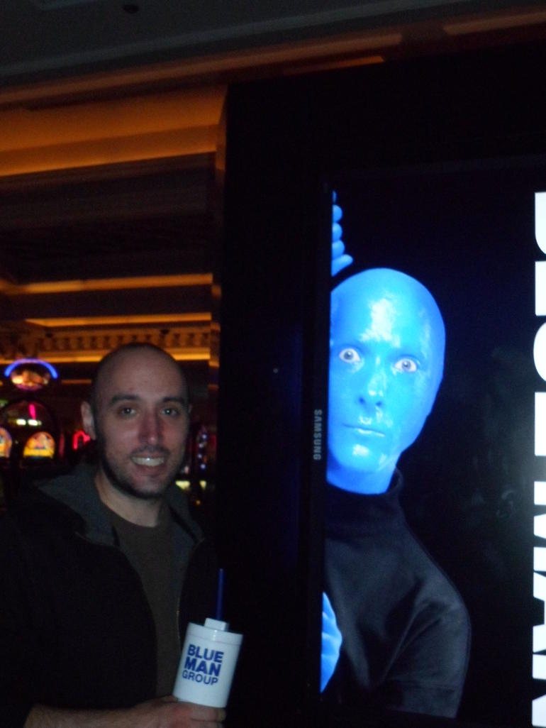 Do you see a Blue Man? - Las Vegas
