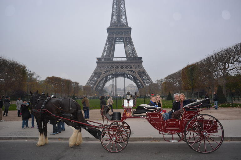 Horse and carriage - Paris