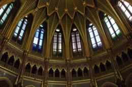 Photo of Budapest Budapest Parliament House Tour Interior dome patterns on walls
