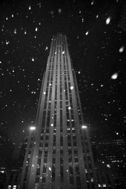 Rockefeller Center at NYC. We were skating on the ice. , jfalmeyda - March 2011