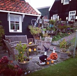 home yard in Marken , Lamiaa S - November 2015
