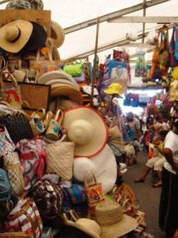 Straw hats at the Straw Market , Leah - July 2011