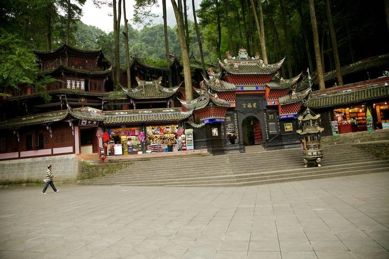 Near entrance to Qingcheng Mountain