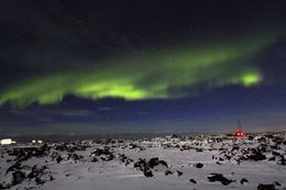 Photo of   Northern lights by Jeep in Iceland