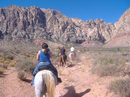 Photo of Las Vegas Morning Maverick Horseback Ride with Breakfast Riding in the desert