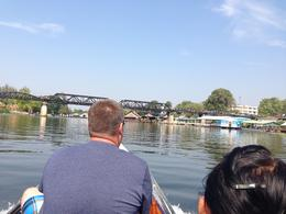 Photo of   Speedboat ride to the Bridge over the River Kwai.