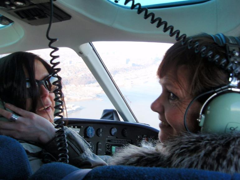 The girls - NYC Helicopter - New York City