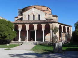 Photo of Venice Murano, Burano and Torcello Half-Day Sightseeing Tour The old church on the island of Torcello