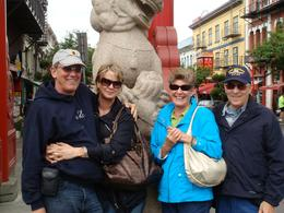 Photo of Vancouver Vancouver to Victoria and Butchart Gardens Tour by Bus Victoria - stone lion