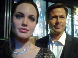 Photo of Las Vegas Madame Tussauds Las Vegas Angie and Brad