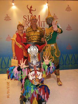 Photo of Phuket Siam Niramit Show in Phuket with Hotel Transfer and Optional Dinner Being tourists