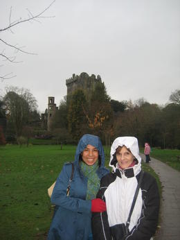 Our first rainy day in Ireland. Blarney Castle in the background. , SaraG - December 2010