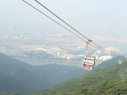 Photo of Hong Kong Lantau Island and Giant Buddha Day Trip from Hong Kong Cable car ride