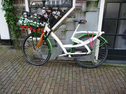 Photo of Amsterdam Skip the Line: Amsterdam and Holland Pass Decorated bike