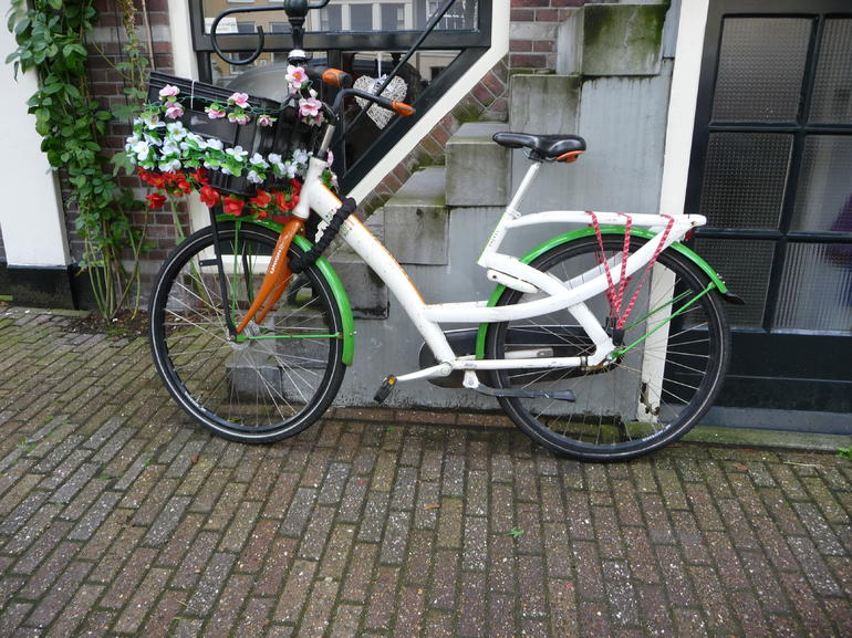 Decorated bike - Amsterdam