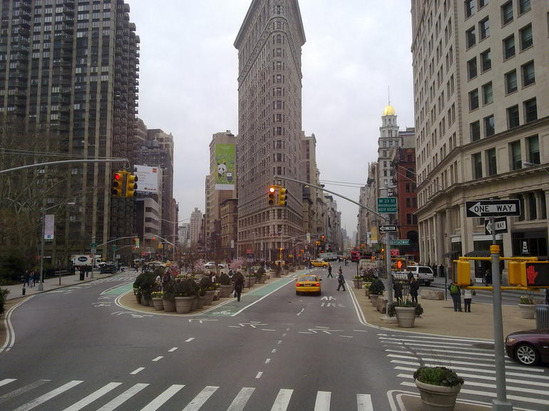 downtown tour - New York City