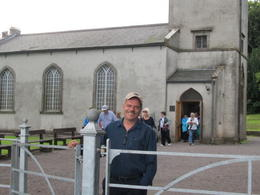 Photo of Dublin Newgrange and Hill of Tara Day Trip from Dublin Frank in front of the Tara Visitor Centre