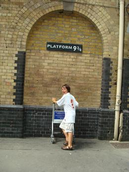Photo of London Private Tour: Harry Potter Black Taxi Tour of London Hurry or we'll miss the train!