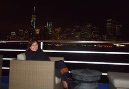 Photo of New York City New York Dinner Cruise Maravillosa Vista nocturna de NYC