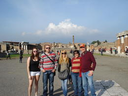 Me, my brother Marko, our friends from Australia and a friend from America , MIRJANA L - December 2012
