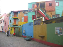 Colorful houses along El Caminito in La Boca., Bandit - June 2012