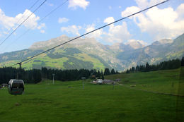 Cable car ride to the titlis , Hridhya - August 2015