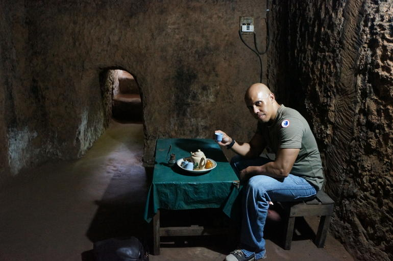 The Commander's room in Cu Chi Tunnel - Ho Chi Minh City