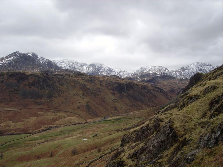 View  from Hardknott fort. - Lake District