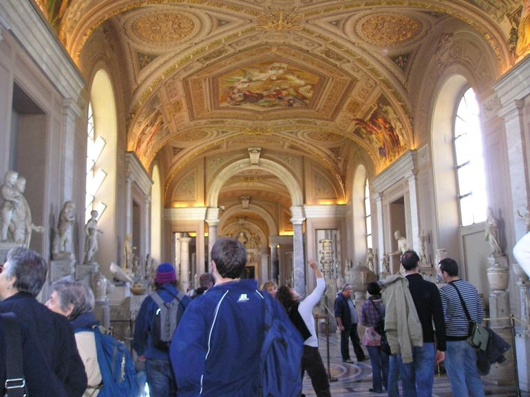 View inside The Vatican - Rome