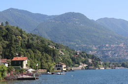 Photo of Milan Lake Como Day Trip from Milan View of lake from Villa Olmo