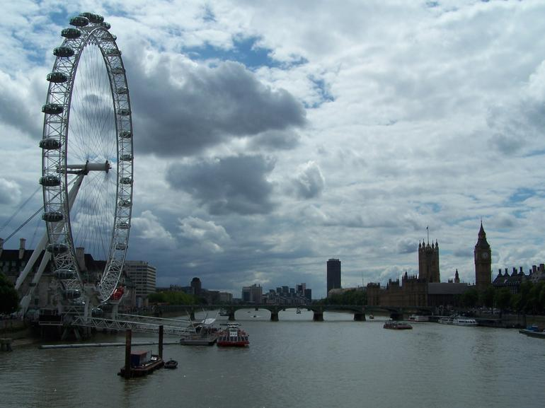 View over the Thames - London