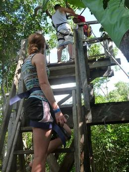 Photo of Cancun 4-in-1 Tulum Adventure: Zipline, Cavern Rappel, Cave Snorkel and Skycycle 1