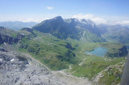 view from mount Titlis cable car , Julie - July 2011